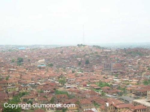 Surrounding ancient Abeokuta city